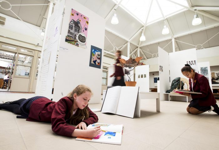 Art Atrium at Portsmouth High School for Girls