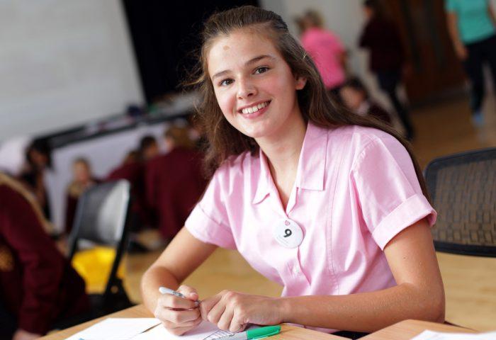Senior girl Edie, Independent School Portsmouth