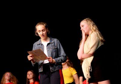 Year 9 drama at Portsmouth High School