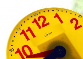 clock for nursery morning break
