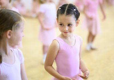 Ballet in Reception Class at Portsmouth High Prep School