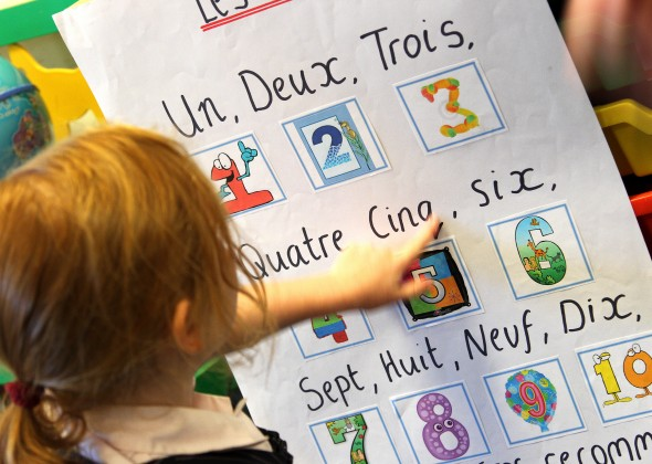 French in the Nursery School at Portsmouth High School