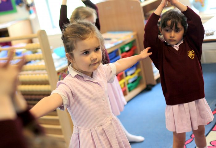 Week in the life of Reception Class at Portsmouth High School in Southsea