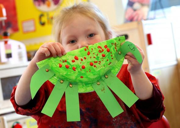 Dinosaur day at Portsmouth High Nursery School
