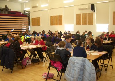 Mathematics Challenge Day at Portsmouth High School in Southsea