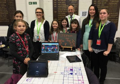 Portsmouth High School pupils helped inspire more women to get into technology