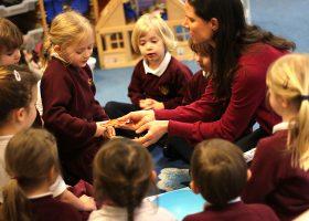 Nursery School planning their experiment