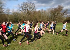 Cross country at the GDST Sports Rally
