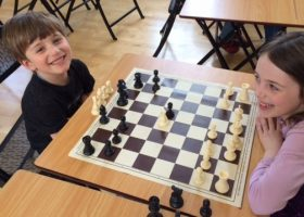 Phyllis Loe Chess Tournament at Portsmouth High School