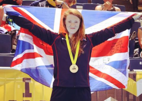 Zoe Williams in the Invictus Games