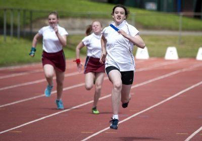100m sprint champion at Portsmouth High School