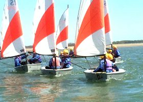 Sailing at Portsmouth High School