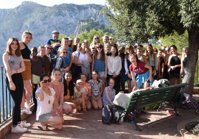 Portsmouth High School girl enjoy trip to Sorrento