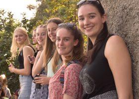 Portsmouth High School girl enjoy trip to Sorrento
