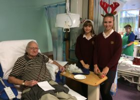 Portsmouth High School at Queen Alexandra Hospital dialysis unit