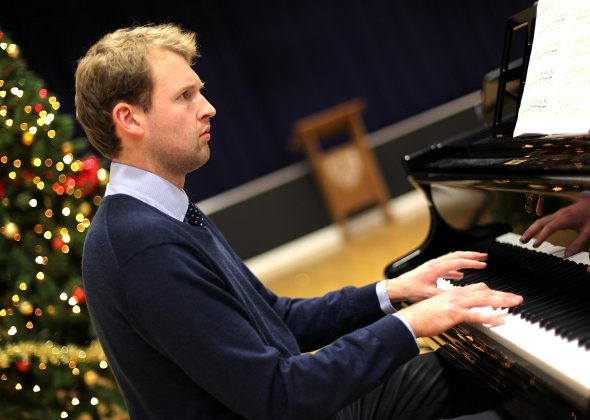 Music teacher Jan Guthrie