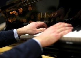 Music teacher recital at Portsmouth High School
