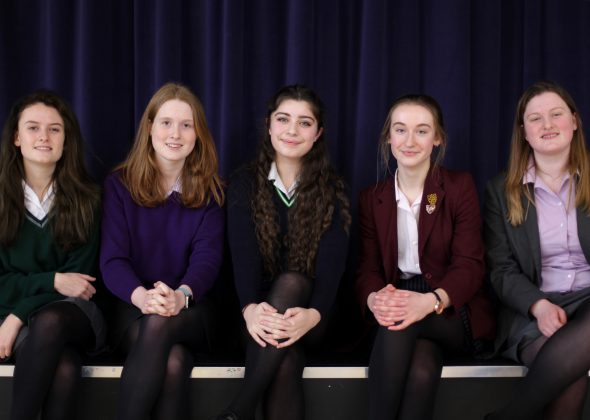 Portsmouth High School host Chrystall Carter public speaking competition