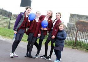 Portsmouth High School walk for PlanUK