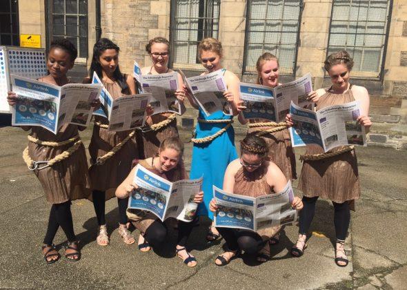 Sixth Formers at Edinburgh Fringe