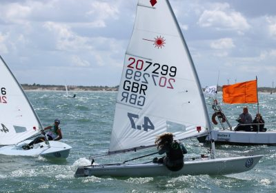 Matilda Nicholls sailing