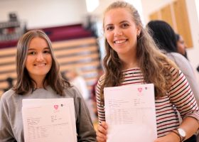 A Level results at Portsmouth High School 2017