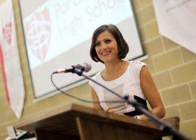 Anjana Gadgil at Portsmouth High School
