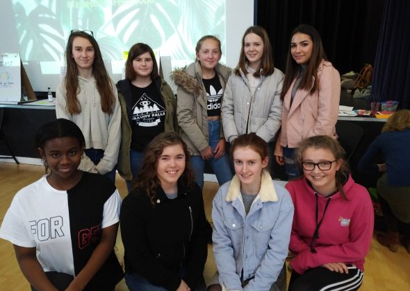 Cawston Press event with Portsmouth High School