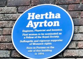 Hertha Ayrton plaque unveiling