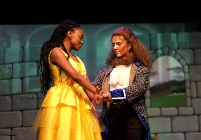 Independent School Portsmouth, Senior girls performing on stage, Drama School