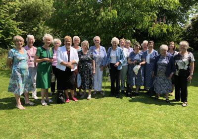 Alumnae class of 1956 meet at Hinton Ampner
