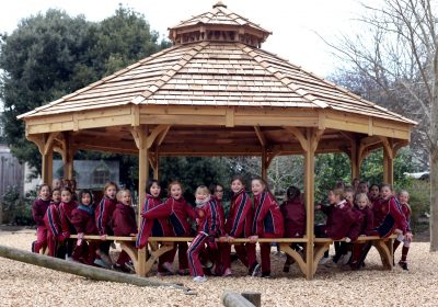 outdoor classroom at Portsmouth High Prep School