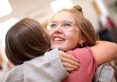 Independent School Portsmouth, Girls celebrating the best GCSE results