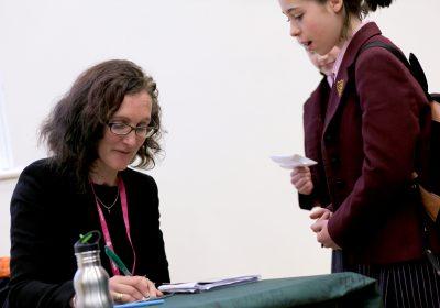 Lisa Heathfield visits Portsmouth High School