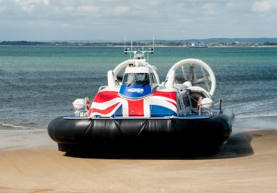 Hovercraft on seafront, travel, Private School Portsmouth