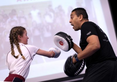 Non-contact boxing independent school in Portsmouth