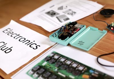 Electronics Club at Portsmouth High School