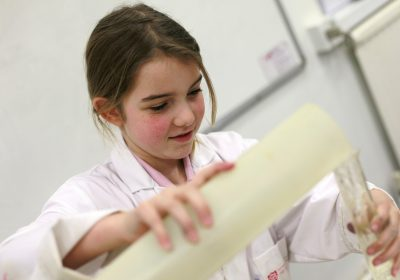 Year 5 at Portsmouth High Prep School in a science lesson