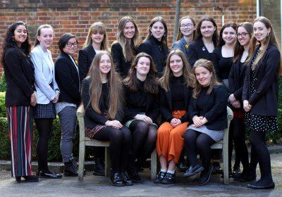 Portsmouth High School Senior Prefect team 2020-21