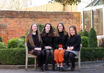 Portsmouth High School Head Girl team 2020-21