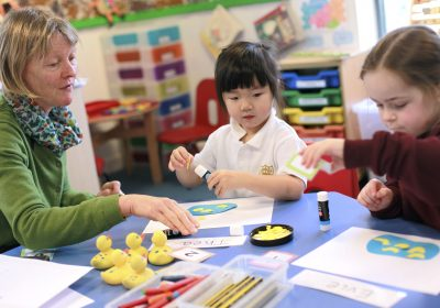 Group mathematics at Portsmouth High Pre-School