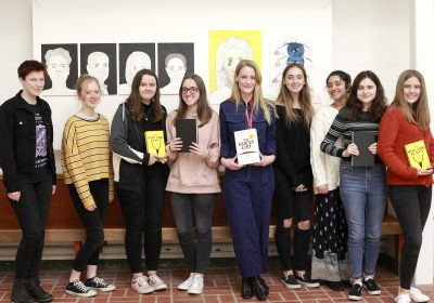 Lucy Foley visits Portsmouth High School