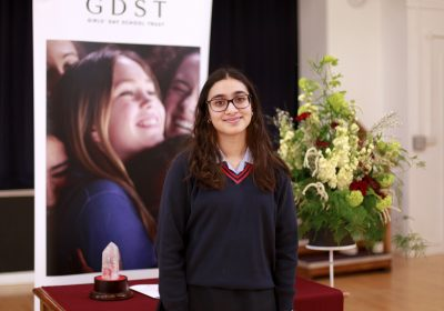 Chrystall Carter public speaking competition