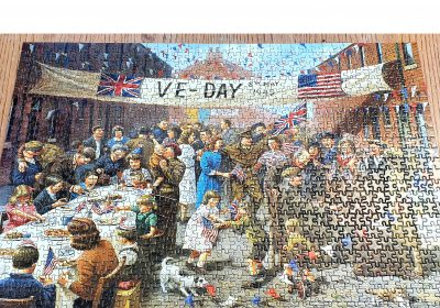 VE Day 1000 piece jigsaw