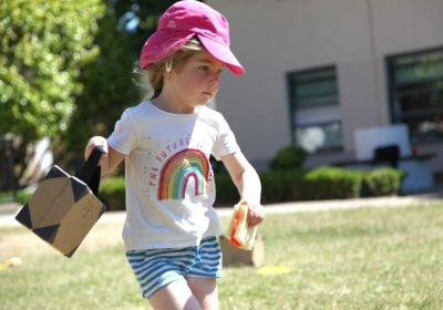 Race at Pre-School sports day