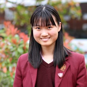 Chinese student at Portsmouth High School GDST