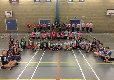 Netball in bubbles