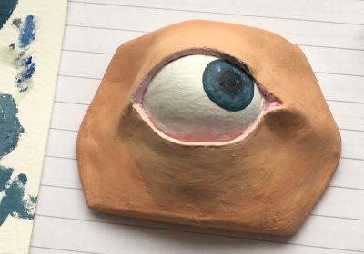 Ceramic study of the eye