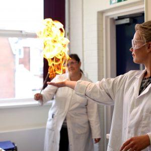 Methane gas at Portsmouth High School Summer Holiday Club