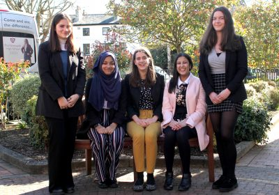 Head Girl and Senior Prefects team announced at Portsmouth High School for 2021/22